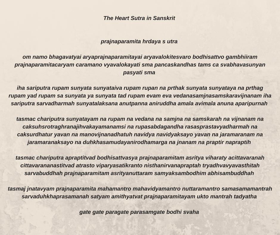 heart.sutra.sanskrit